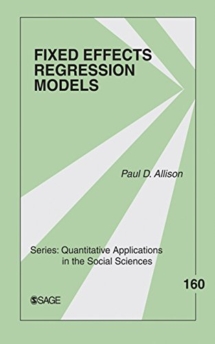 Fixed Effects Regression Models (Quantitative Applications in the Social Sciences Book 160) (English Edition)