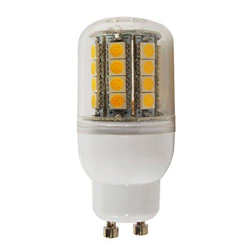 Fairyland 4W E27 LED Licht WarmWeiß Mais Glühbirne 5050 SMDs 550Lumens 3000K Energiesparende Spot Lampe 220 V für Indoor Outdoor Großflächenbeleuchtung, Street und Area Light, HID, HPS(Warmweiß) (4-licht-post Klassische)