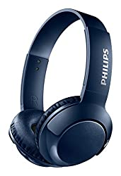 Philips Bass+ Bluetooth Headphone Blue (SHB3075BL/27)