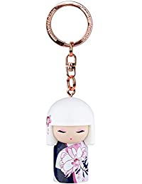 Porte clé Kokeshi Kimmidoll 5cm Hiroko - générosité