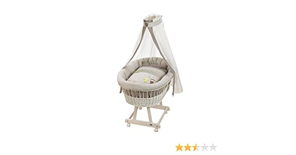 Alvi stubenwagen birthe weiß komplettangebot birds amazon