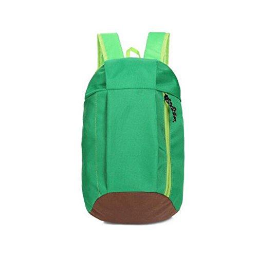 HTRPF Art und Weise einfache Kursteilnehmer-Segeltuch-Schulter-Minitasche green + coffee