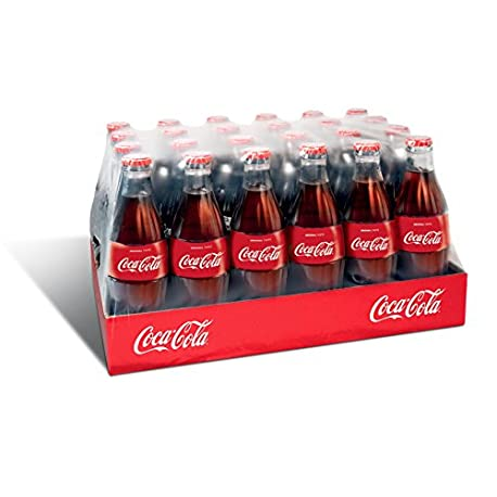 Botella Coca Cola de vidrio 24 x 330 ml