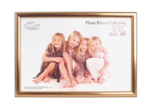 Digital Distribution Inov8 PFVS-VGLD-A4 Traditionell Briten Foto und Bilderrahmen, A4 Zertifikat, Value Gold