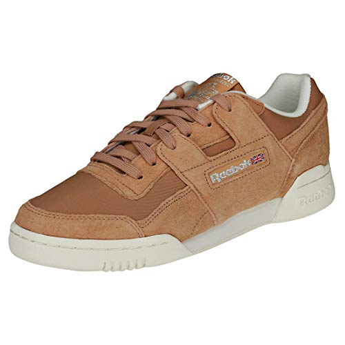 Reebok Workout Lo Plus, Scarpe da Fitness Donna, Multicolore (VTG/Bare Brown/Chalk/Pure Silver 000), 39 EU