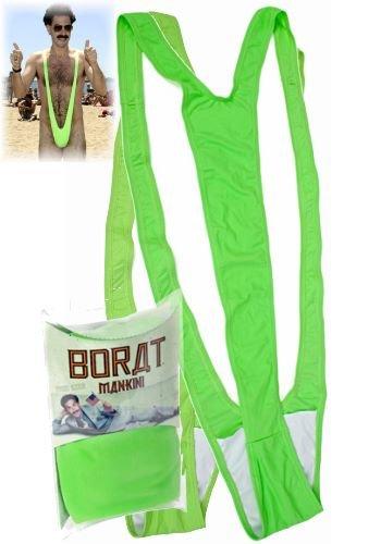 Borat Mankini - Badeanzug in (Borat Badeanzug Kostüm)