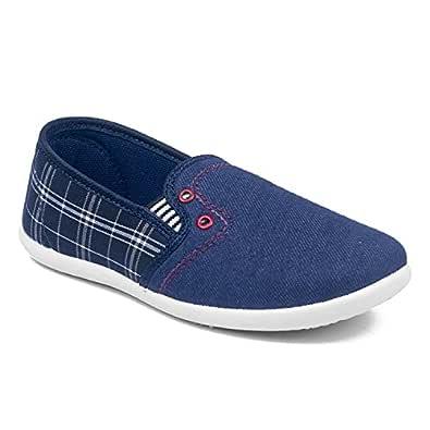 Asian shoes Hunter-31 Blue Kids Casual Shoes 5CUK/Indian
