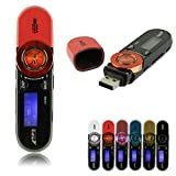 FJHJB USB LCD Screen16GB Support Flash TF Player MP3 Music FM Radio 100% Pink
