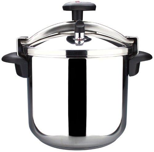 Magefesa Star–Traditional Pressure Cooker 6 l black, stainless steel