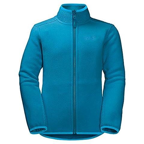 Jack Wolfskin fleece jacket–Arctic Wolf Fleece, Children (Unisex), dark turquoise