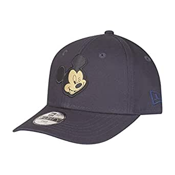 57c6b2db04a New Era Mickey Mouse Navy Gold Character 9Forty Velcroback Cap Child Kind