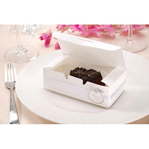 Bulk Buy: Darice DIY Handwerk Cake Box Weiß 14x 4,4cm 24Teile (6er Pack) 1404-27 - Darice-box