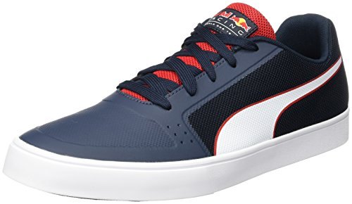 Puma Rbr Wings Vulc, Sneakers Basses Mixte Adulte Bleu (Total Eclipse-white-chinese Red)