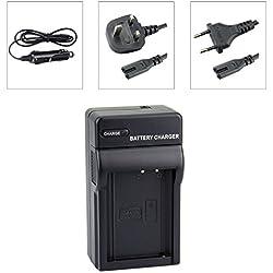 DSTE LP-E10 Chargeurs de batteries pour Canon EOS 1100D 1200D EOS Kiss X50 X70 EOS Rebel T3 T5 Camera as LC-E10E