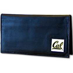 California Berkeley Bears Deluxe Leather Checkbook Cover
