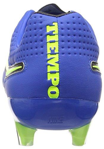 Nike Tiempo Legend V FG Herren Fußballschuhe Blau (Soar/Volt-Black 470)