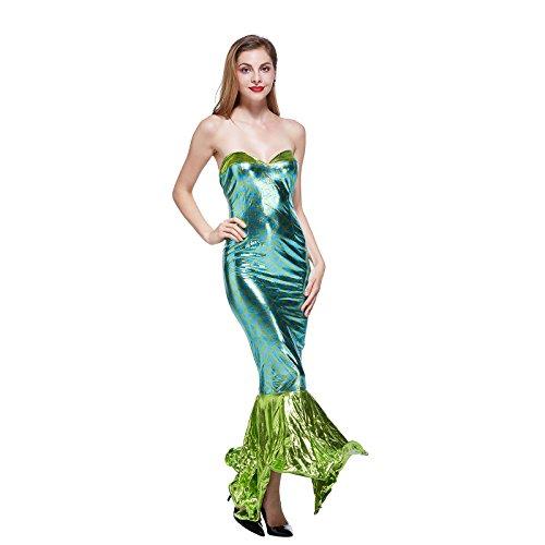 Frauen Sexy Meerjungfrau Halloween Kostüm 1101
