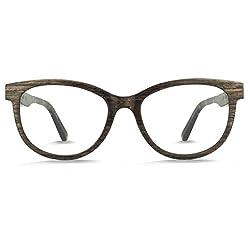 STADTHOLZ Holzbrille Schwabing in Räuchereiche