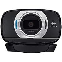 Logitech C615 1920 x 1080Pixeles USB 2.0 Negro cámara web - Webcam (1920 x 1080 Pixeles, 1080p,720p, 8 MP, Auto, USB 2.0, Negro)