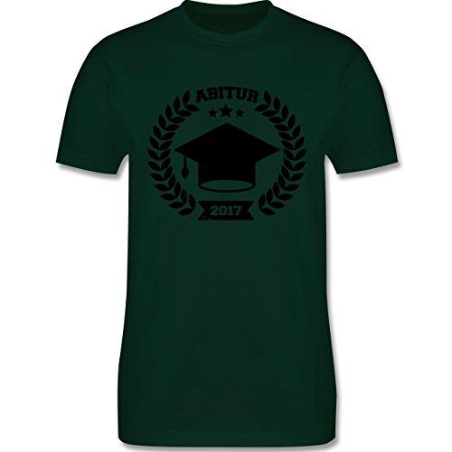Abi & Abschluss - Abitur 2017 - Herren Premium T-Shirt Dunkelgrün