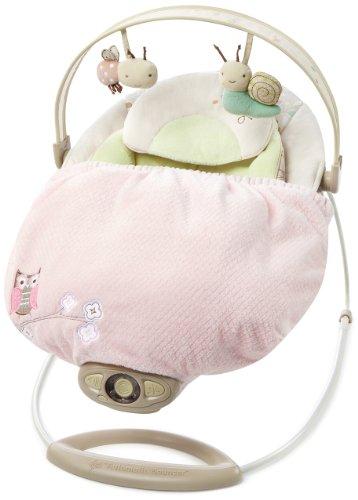 Bright Starts Snuggle Stay Hoo Loves - Coperta per sdraiette, altalene, dondoli e seggiolini auto, colore: Rosa