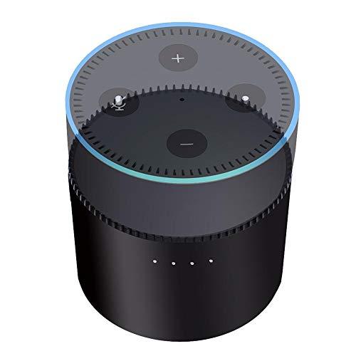 Akku für Echo Dot 2,10000mAh Powerbank Akku Charging Base Ladegerät für Amazon Echo Dot (2. Generation),Schwarz/Weiß