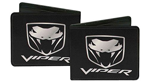 dodge-automobile-company-viper-snake-bite-bi-fold-wallet