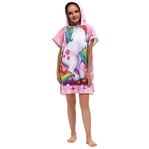 Star-bw Albornoces niña niño El Caballo Toalla baño Playa 12 años Pijama Capa Encapuchado 6-16...