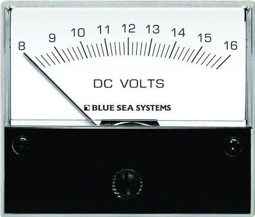 BLUE SEA 8003 VOLTMETER DC 8-16V Blue Sea 8003 Voltmeter