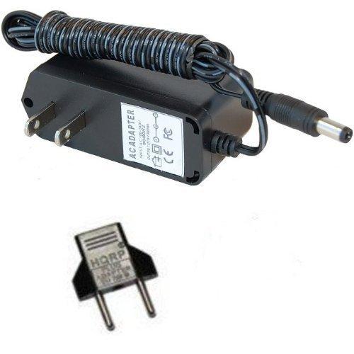 HQRP Cargador de CA para Digitech PS200R BP90 JamMan Solo RP70 RP90 Danelectro N10BK Honey Tone Mini Amp DA-1 PSU