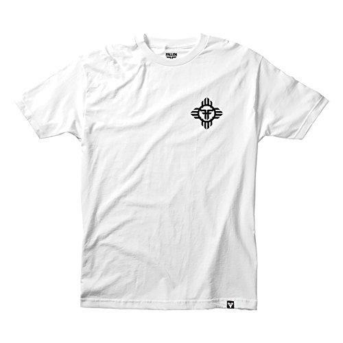 FALLEN T-Shirt APACHE White/Black