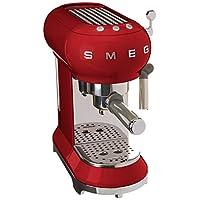 Smeg ECF01RDEU Kahve Makinesi Kırmızı
