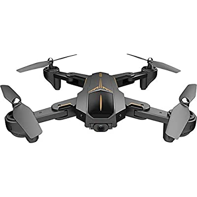 Singular-Point RC Drone With Camera Battery,VISUO XS812 5G WiFi FPV 5MP HD Camera 15mins Flight Time GPS/ Follow Me/Surround Flight/Altitude Hold/One Key Return Quadcopter -RTF