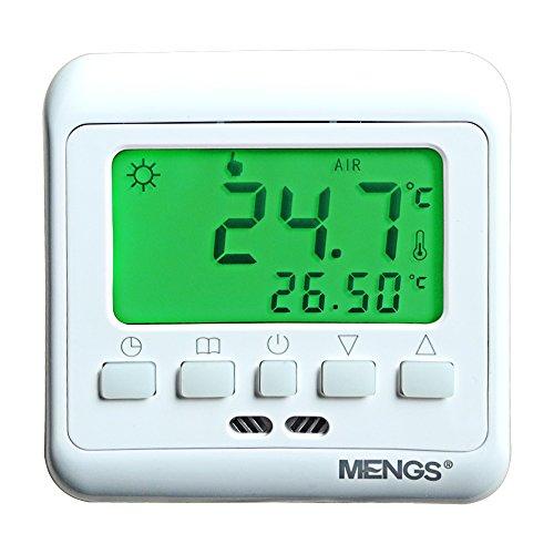 daskoo c08.h3 7 días programables Calefacción Termostato