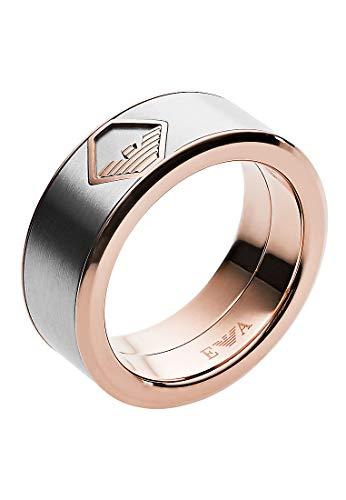 Emporio Armani Herren-Ringe Edelstahl mit \'- Ringgröße 61 EGS2635040-10
