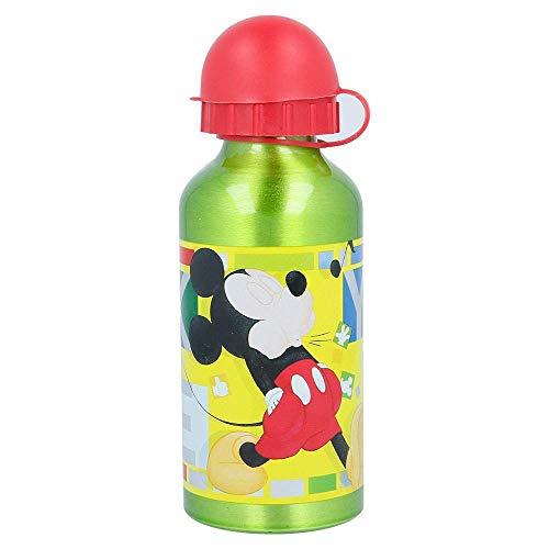 Stor Botella Aluminio 400 ML   Mickey Mouse - Disney - Watercolors