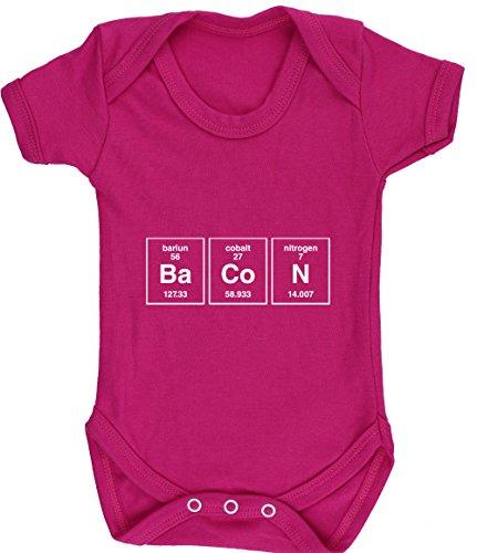 hippowarehouse Speck Element Baby Weste Body (Short Sleeve) Jungen Mädchen, Pink, 6157-BV-FP-6-12 (Tee Sleeve Baby-jungen-short)