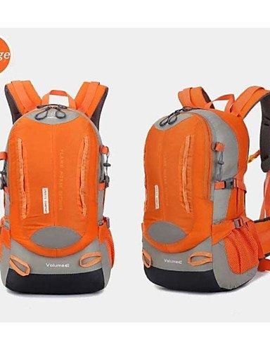 ZQ 35L L Rucksack Camping & Wandern / Reisen Outdoor Wasserdicht / Wasserdichter Verschluß / tragbar / AtmungsaktivGrün / Rot / Schwarz / Orange
