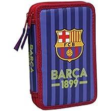 F.C. Barcelona - Triple Soft, portatodo, 21.5x6x11 cm  (Cyp Imports S.L.)