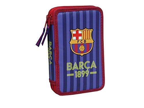 F.C. Barcelona – Triple Soft, portatodo, 21.5x6x11 cm (Cyp Imports S.L.)
