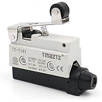 heschen horizontal interruptor de límite TZ-7141Momentray corto Palanca de rodillo actuador AC 380V 10A Single pole