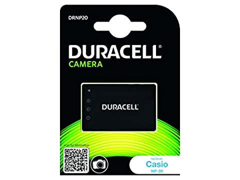 Duracell Replacement Digital Camera Battery For Casio NP-20