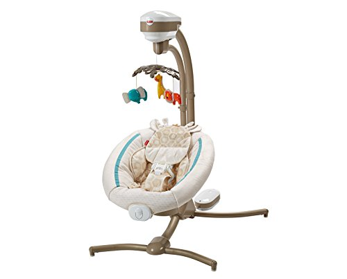 Fisher-Price Soothing Savanna Cradle 'n Swing by Fisher-Price
