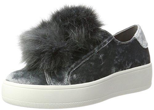 Steve Madden Damen Breeze-V Sneaker, Grau (Grey), 40 EU (Schuhe Slip On Steve Madden)