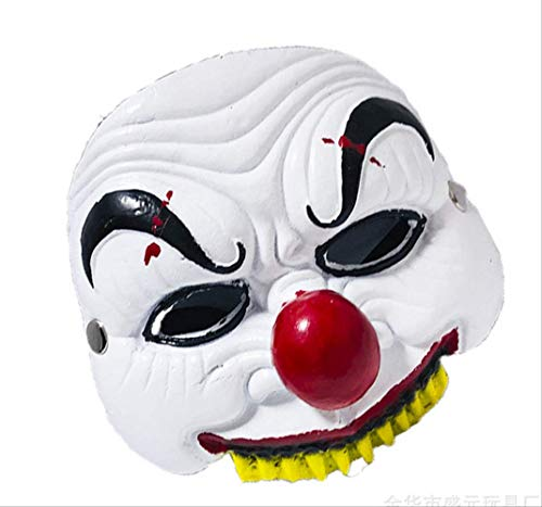 detrasp Joker Maske Movie Batman The Dark Knight Cosplay Horror Scary Clown Maske Mit Halloween Latex Maske Party Kostüm