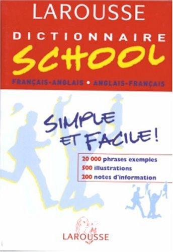 Dictionnaire School : Anglais/français, français/anglais, 6ème-5ème LV1 - 4ème-3ème LV2 par Michael Janes