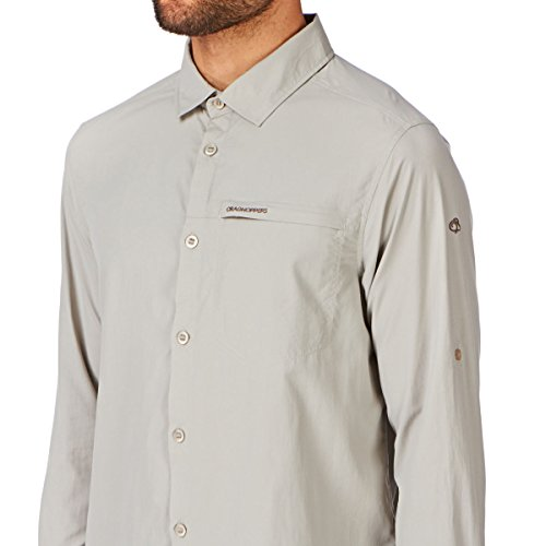 Craghoppers NosiLife Belay Shirt Parchment