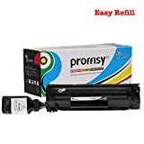 proffisy Easy Refill 88A Toner Cartridge Compatible with HP Laser Printers P1007, P1106, P1108, M1213nf MFP, M1136-MFP, M126nw MFP