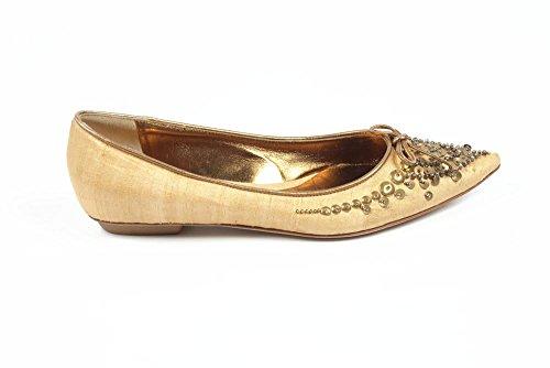 ballerine donna Sebastian Milano ladies ballerina 2255 gold -- 36 eur - 6 us