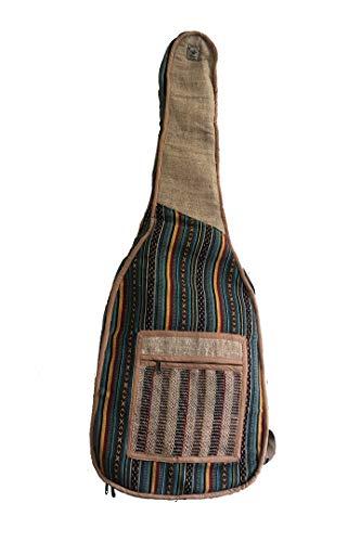 Gitarrentasche Hanf Tasche für Gitarre multi